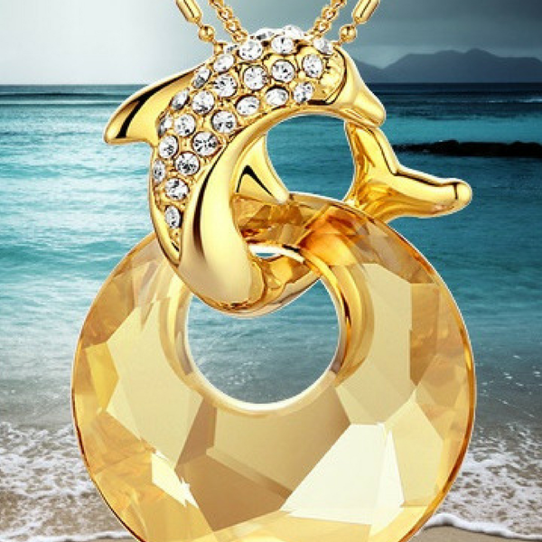Belle Exclusive Dolphin Fashion Necklace