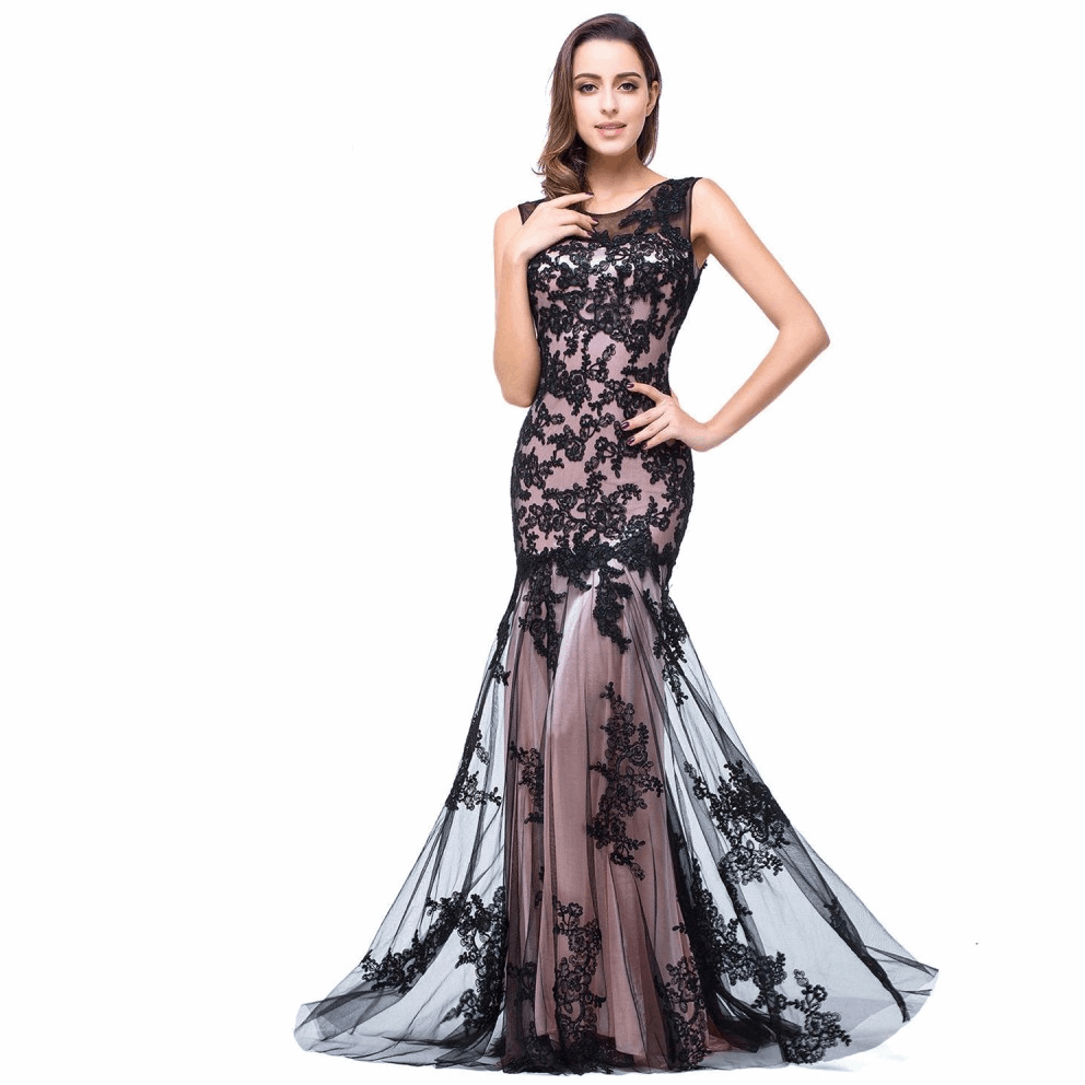 Elegant Mermaid Evening Dresses