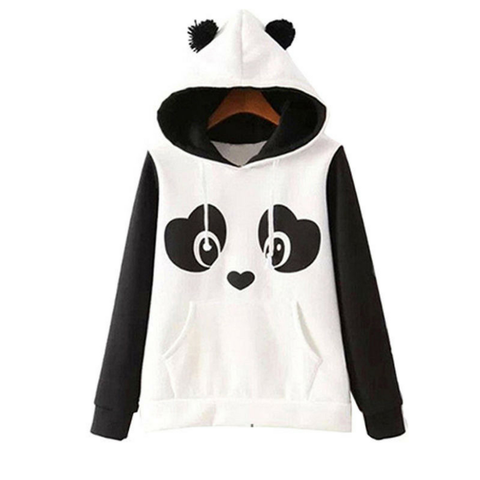Fashion Lovely Panda Hooded Sweatshirt