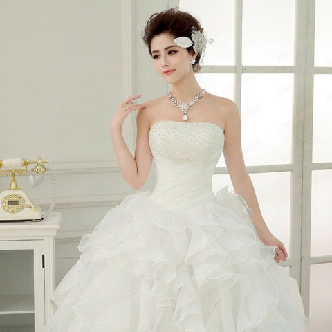 Princess Belle Wedding Gown Dress