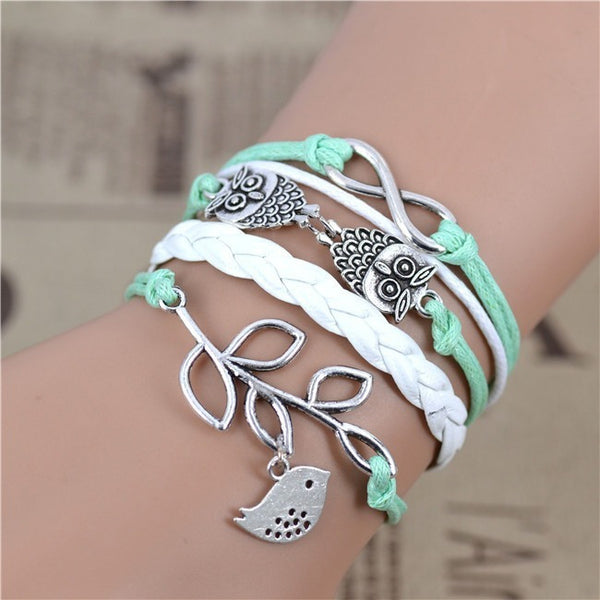 Infinity Love And Friendship Bracelet - Belle Closet