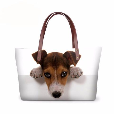 Belle Pet Lovers 3D Print Tote Bag