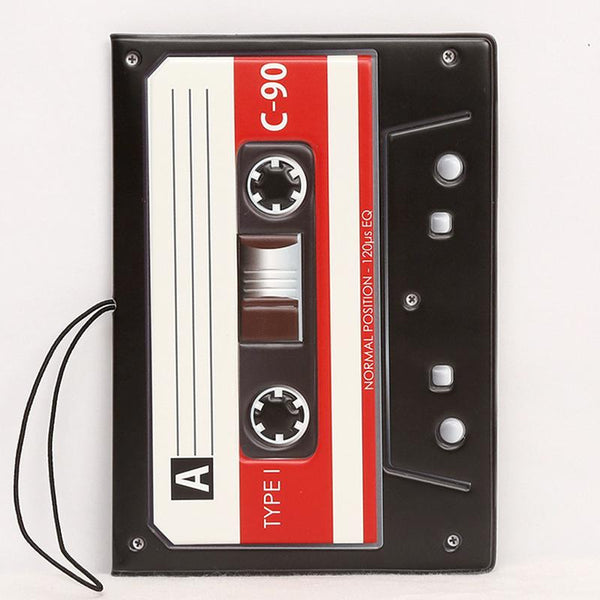 Exquisite 3D Cassette Tape Passport Holder - Belle Closet