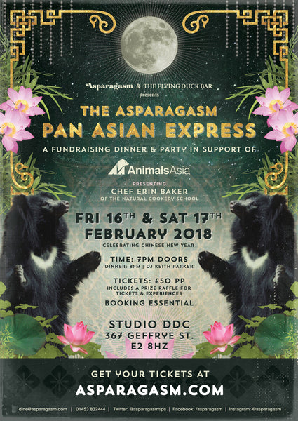 The Asparagasm Pan Asian Express
