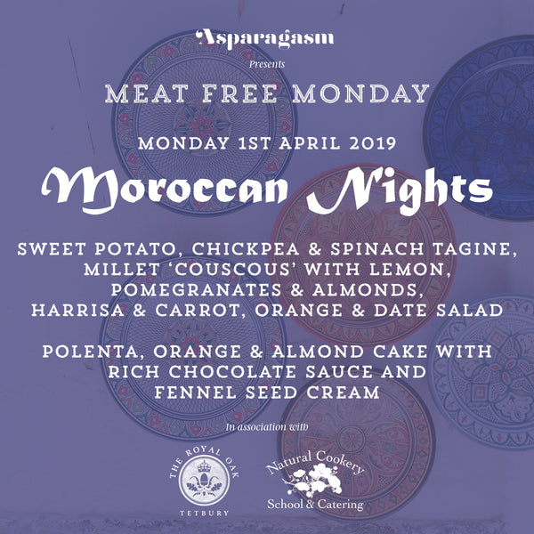 Meat Free Monday: Moroccan Nights