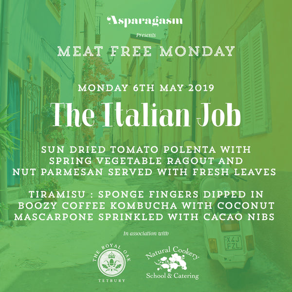 Meat Free Monday: The Italian Job
