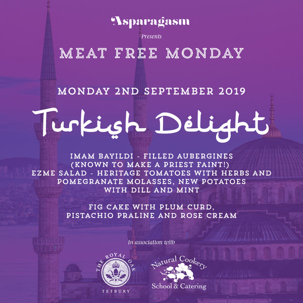 Meat Free Monday: Turkish Delight