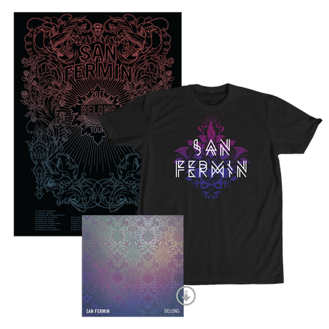 BELONG - T-shirt + Digital Album + Poster (Pre-order)