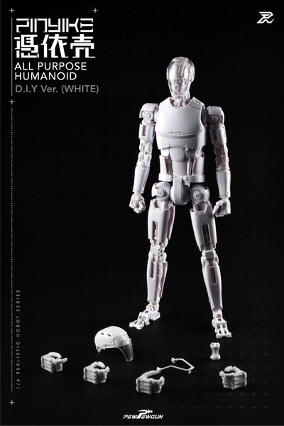 【1/6  機械人形素體-憑依壳 DIY版本】 / 【1/6 scale Robotic Nude Body-Pinyike DIY ver】