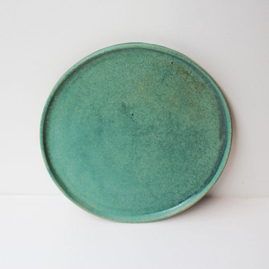 Dinner Plate 26 cm - Oil Green