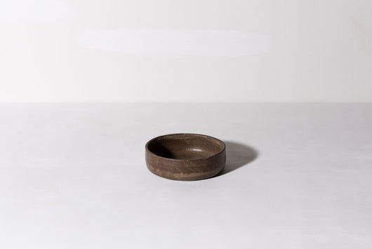 Bowl w. Low Edge - Brown