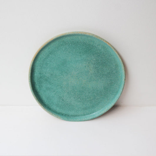 Lunch Plate - Oil Green