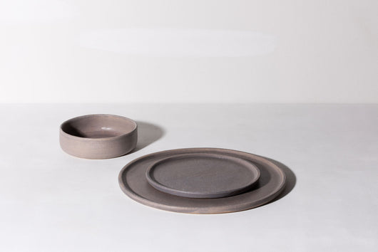 Platter / Large Dinner Plate - Dusty Purple