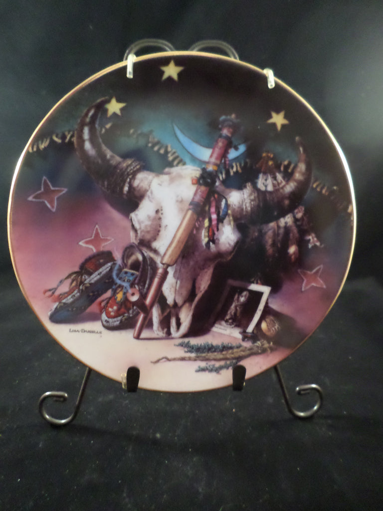 """Sacred Spirits of the Plains"" Collector's Plate"