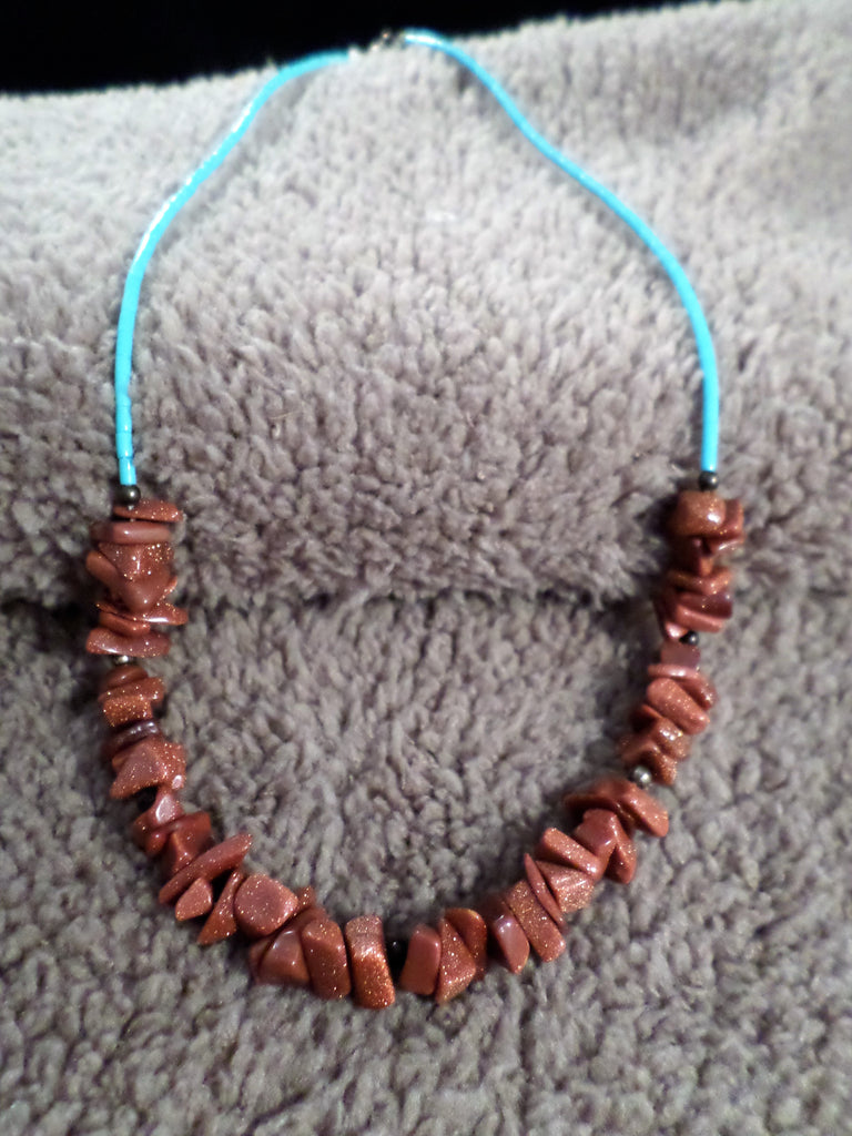 Chipped Stone Necklace