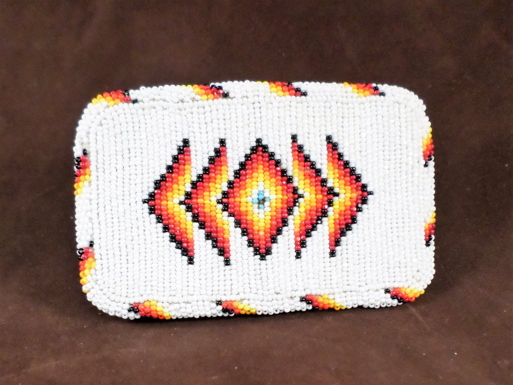 Large Beaded Belt Buckle