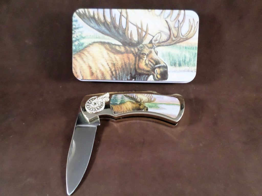 Knife Set - Moose Tin