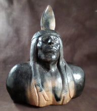 Indian Bust by Eric Canty