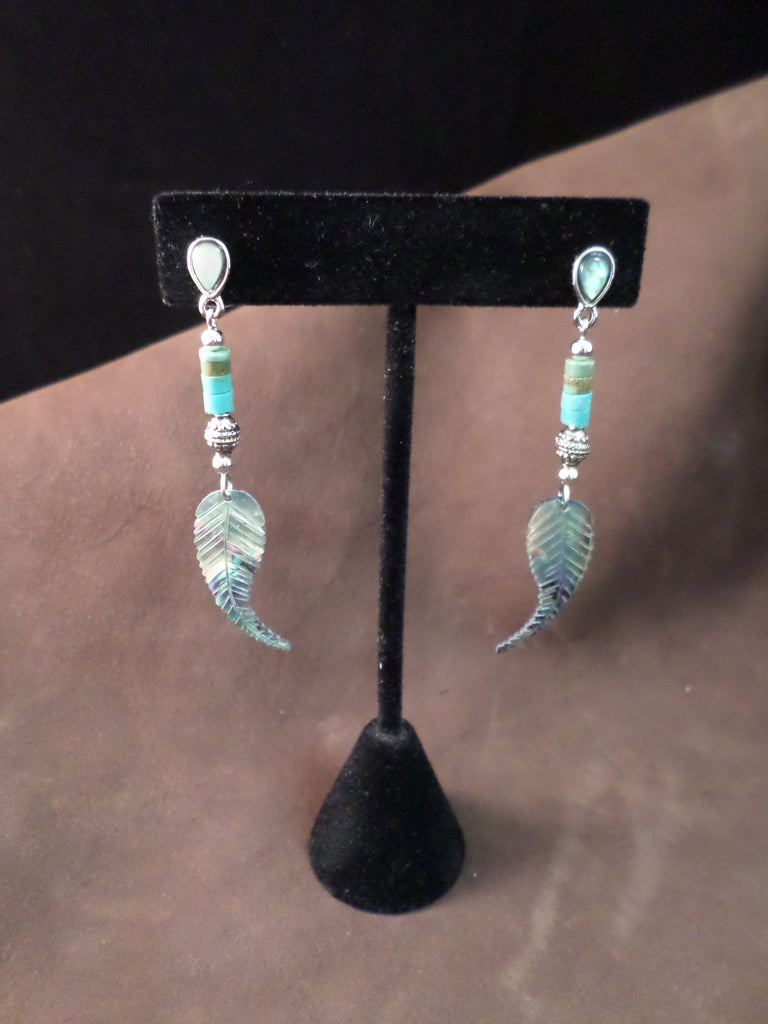 Pearle Southwest Feather Earrings