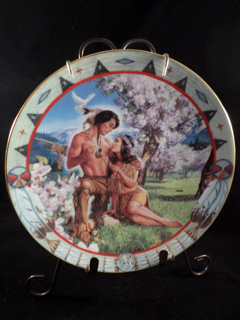 """Enchanted Warrior"" Collector's Plate"