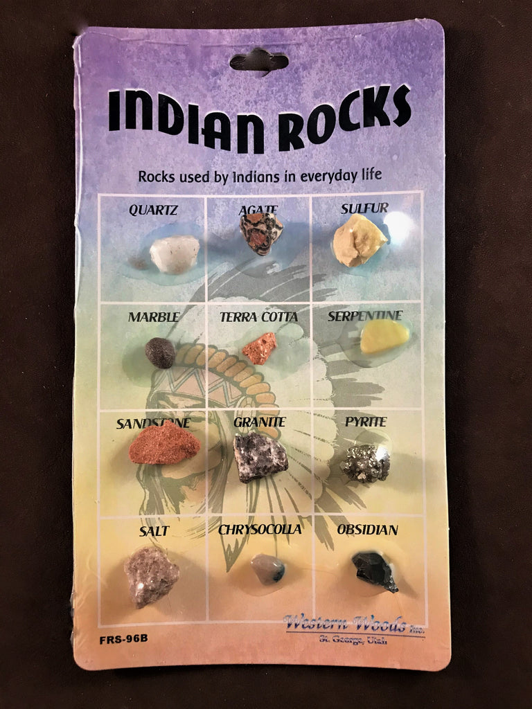 Indian Rocks Card