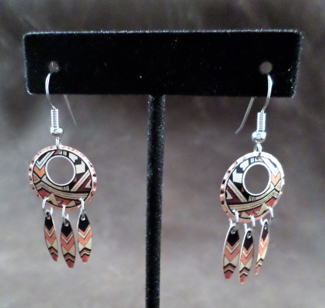 Hoop Copper Earrings