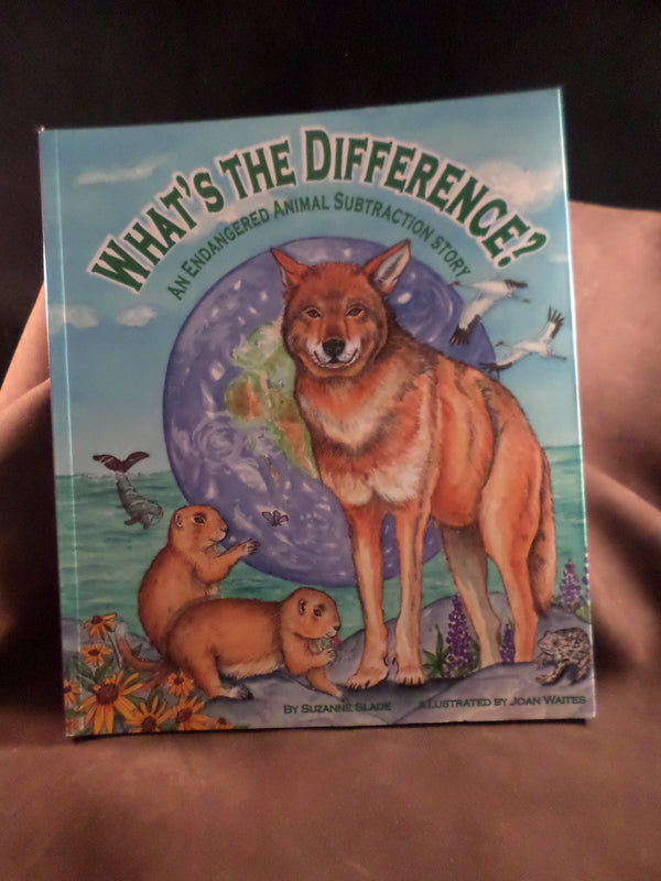 """What's the Difference?: An Endangered Animal Subtraction Story"""
