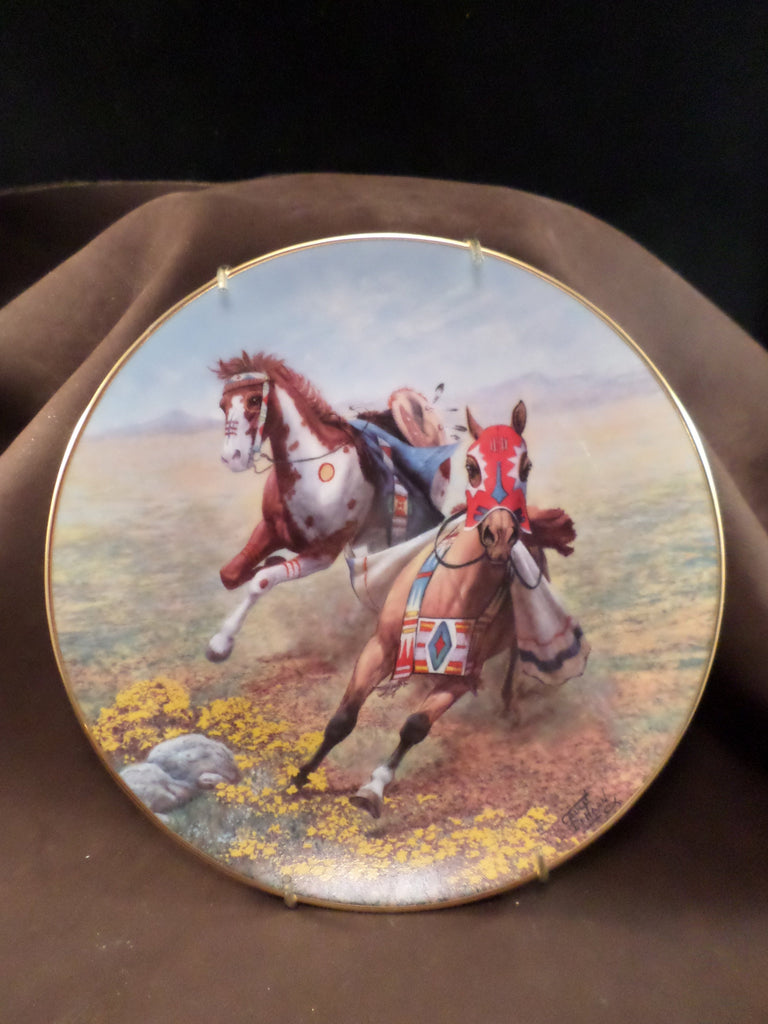 """Battle Colors"" Collector's Plates"