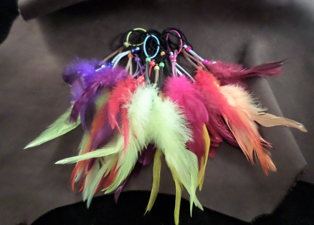 Feather Hairties