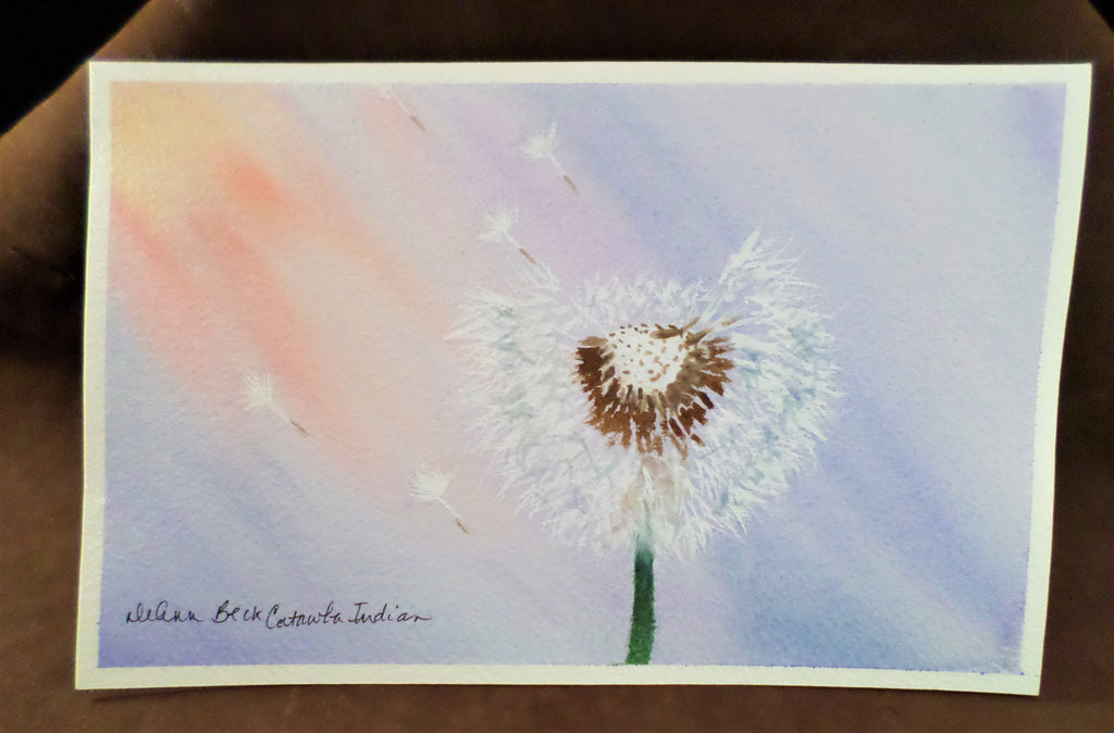 Medium Unframed Watercolor Paintings