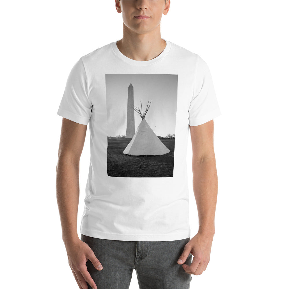 National Mall Short-Sleeve Unisex T-Shirt - Photograph by Aden George-Warren