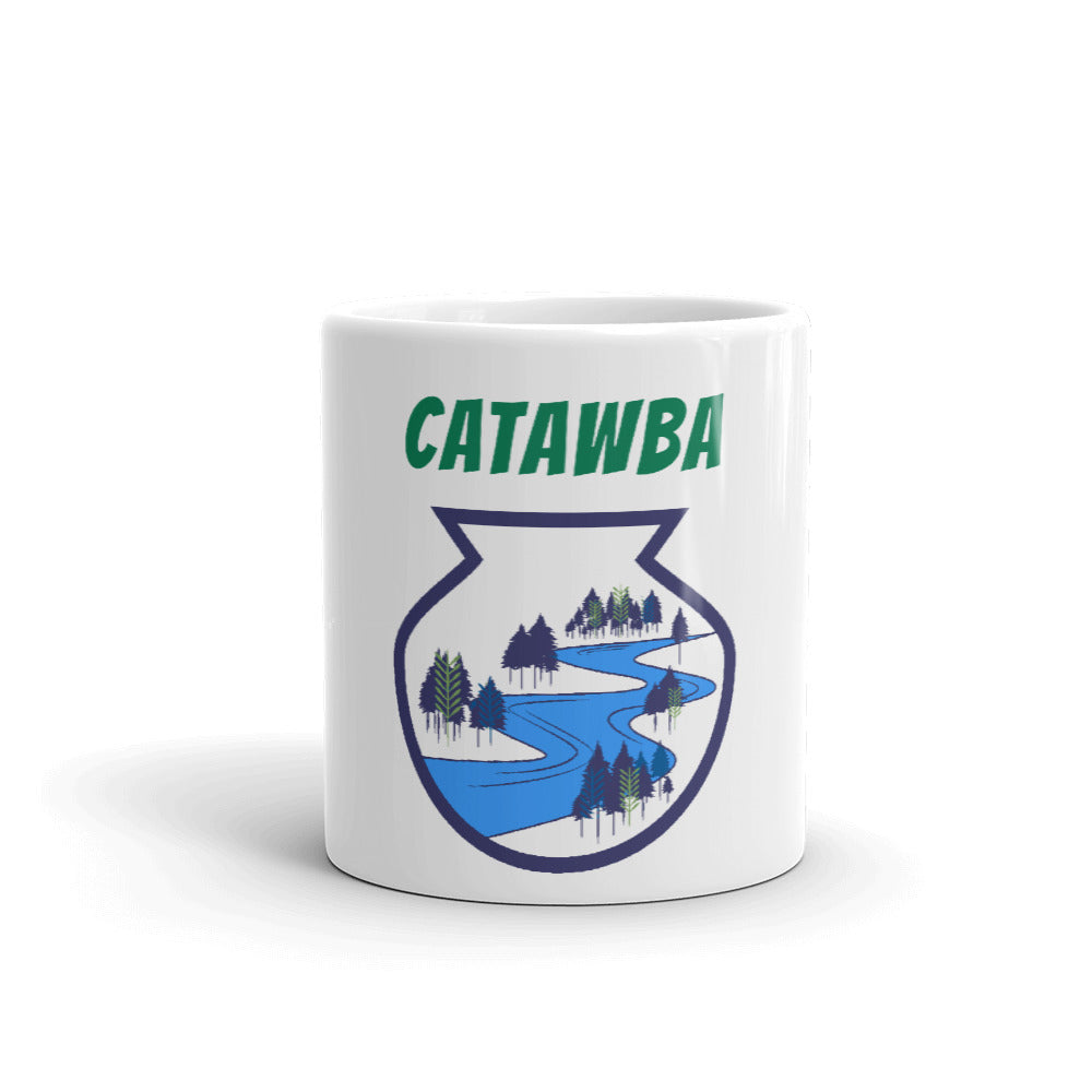 Catawba River Scene Mug artwork by Alex Osborn