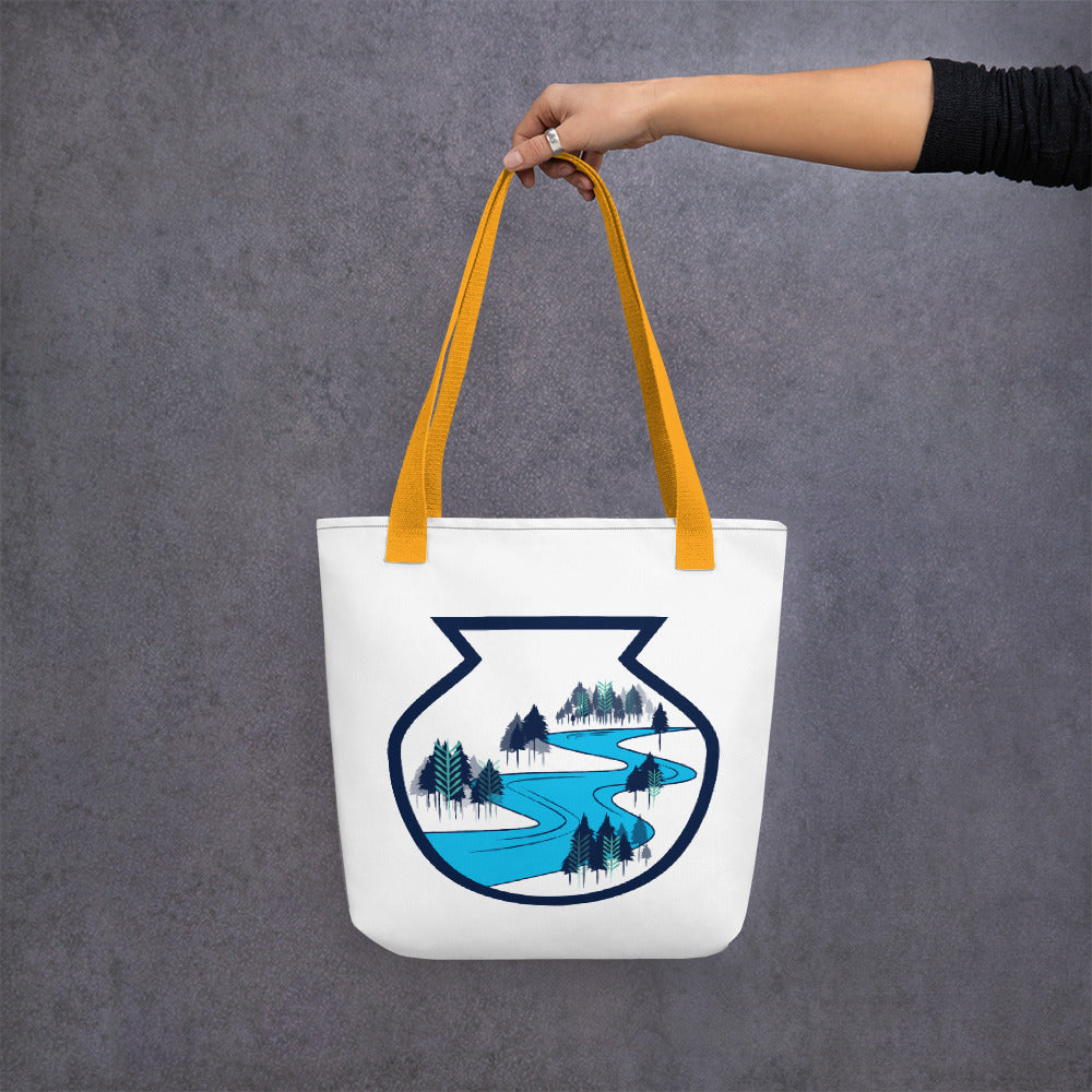 Catawba Pottery Design Tote bag -artwork by Alex Osborn
