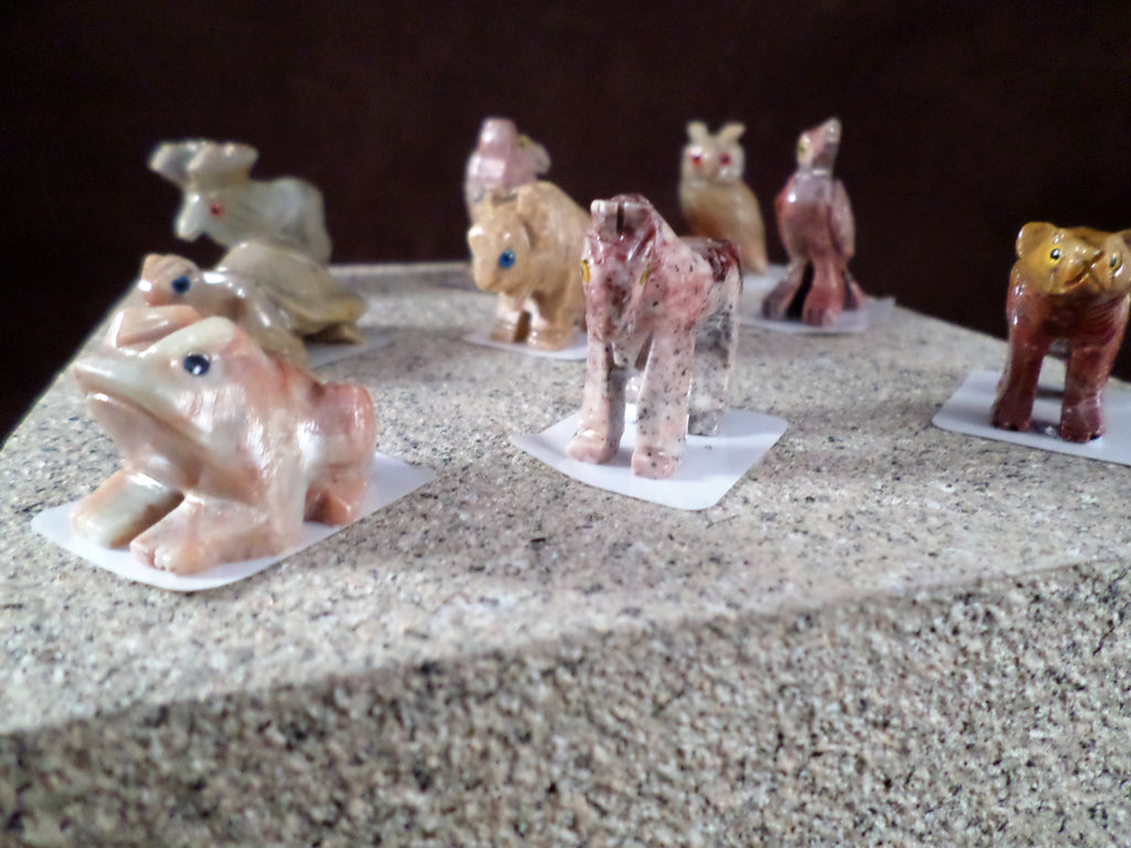 Soapstone Miniature Animals