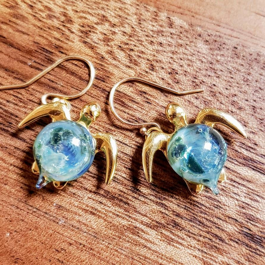 Amanda Earrings | The Honu Collection by Amy Wakingwolf