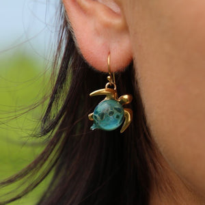 Mahalo Earrings | The Honu Collection by Amy Wakingwolf