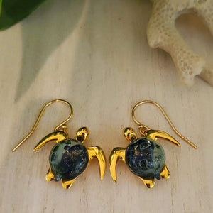 Akoni Dangle Earrings | The Honu Collection by Amy Wakingwolf