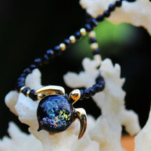 Hana on Black Spinel Gemstone Necklace | The Honu Collection by Amy Wakingwolf