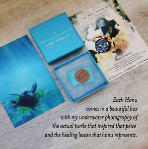 Mahalo Adjustable Ring | The Honu Collection by Amy Wakingwolf