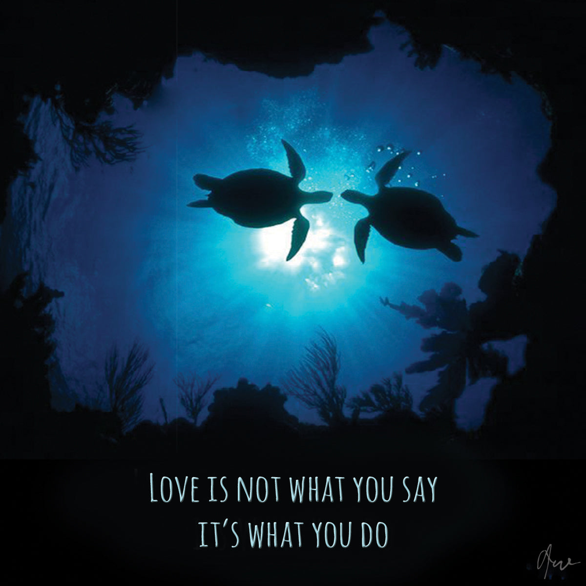 Love - Love | The Honu Collection by Amy Wakingwolf