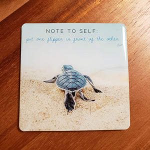 Motivation - One Flipper | The Honu Collection by Amy Wakingwolf