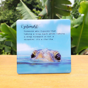 Inspiration - Optimist | The Honu Collection by Amy Wakingwolf