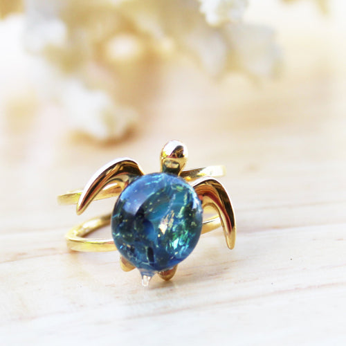Akoni Adjustable Ring | The Honu Collection by Amy Wakingwolf