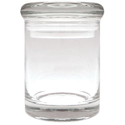 Clear Stash Jar - HMG Kratom