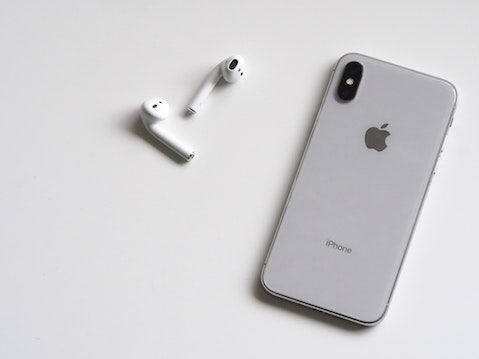 Apple AirPods and Apple Phone