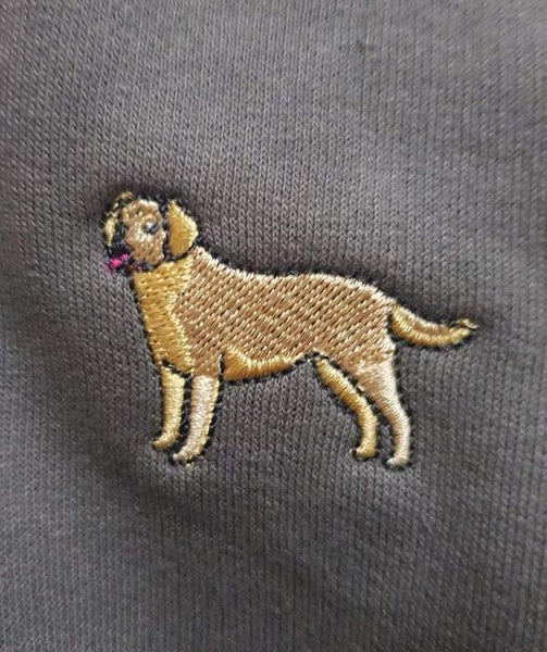 embroidered labrador logo design