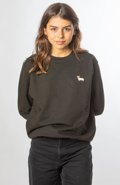 Corgi Jumper - Black