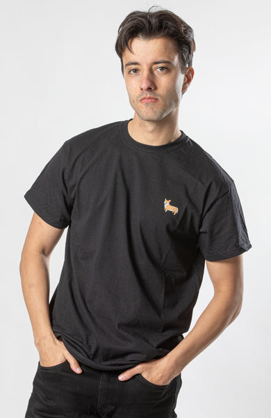 Corgi T-Shirt - Black