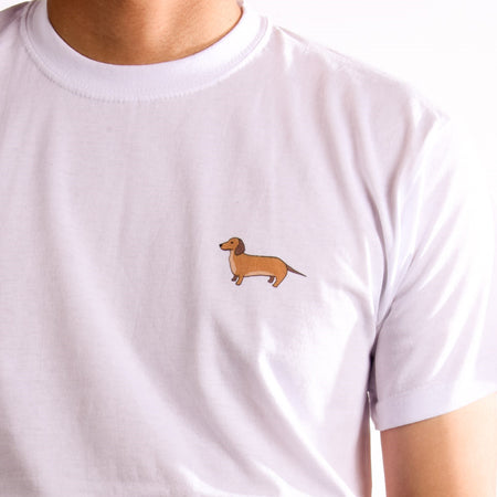 Corgi T-Shirt - Heather Grey