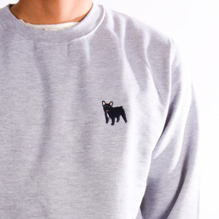 Corgi Jumper - Sky Blue